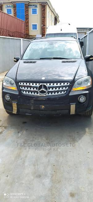Mercedes-Benz M Class 2007 ML 350 4Matic Black | Cars for sale in Lagos State, Amuwo-Odofin