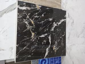 60 by 60 Carara Black for Sitting Rooms | Building Materials for sale in Lagos State, Orile