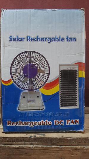Rechargeable Solar Fan It Can Also Charge Phone | Solar Energy for sale in Lagos State, Ojo