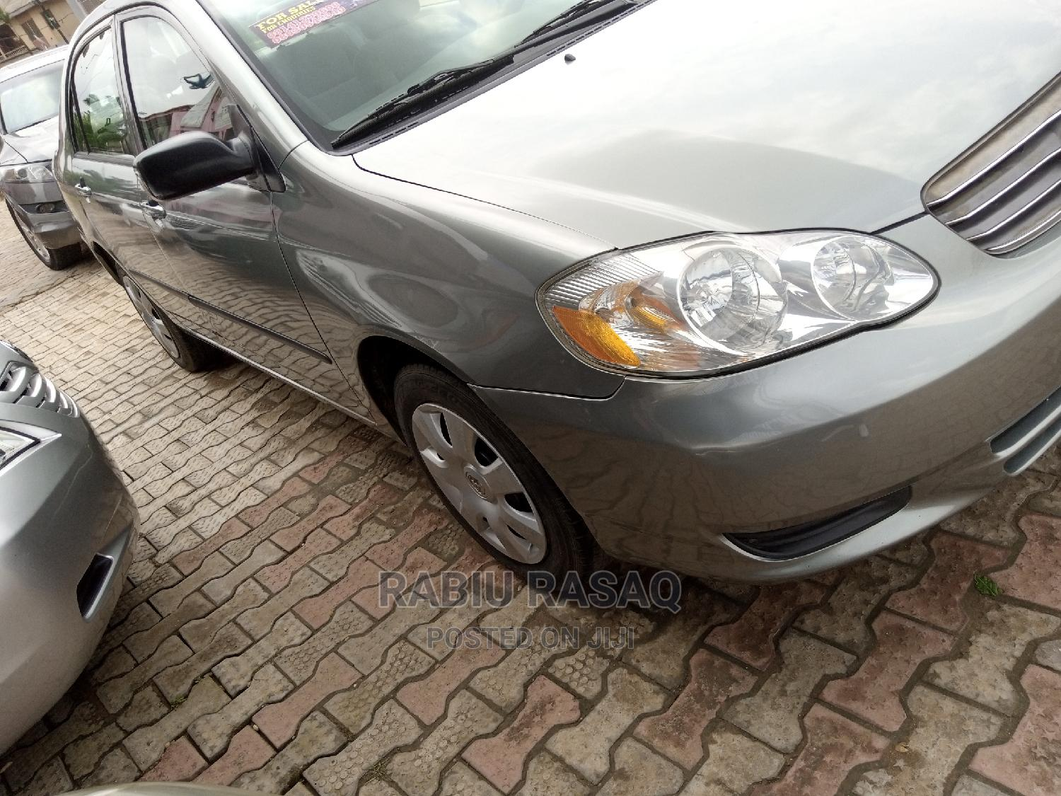 Toyota Corolla 2004 Gray   Cars for sale in Alimosho, Lagos State, Nigeria