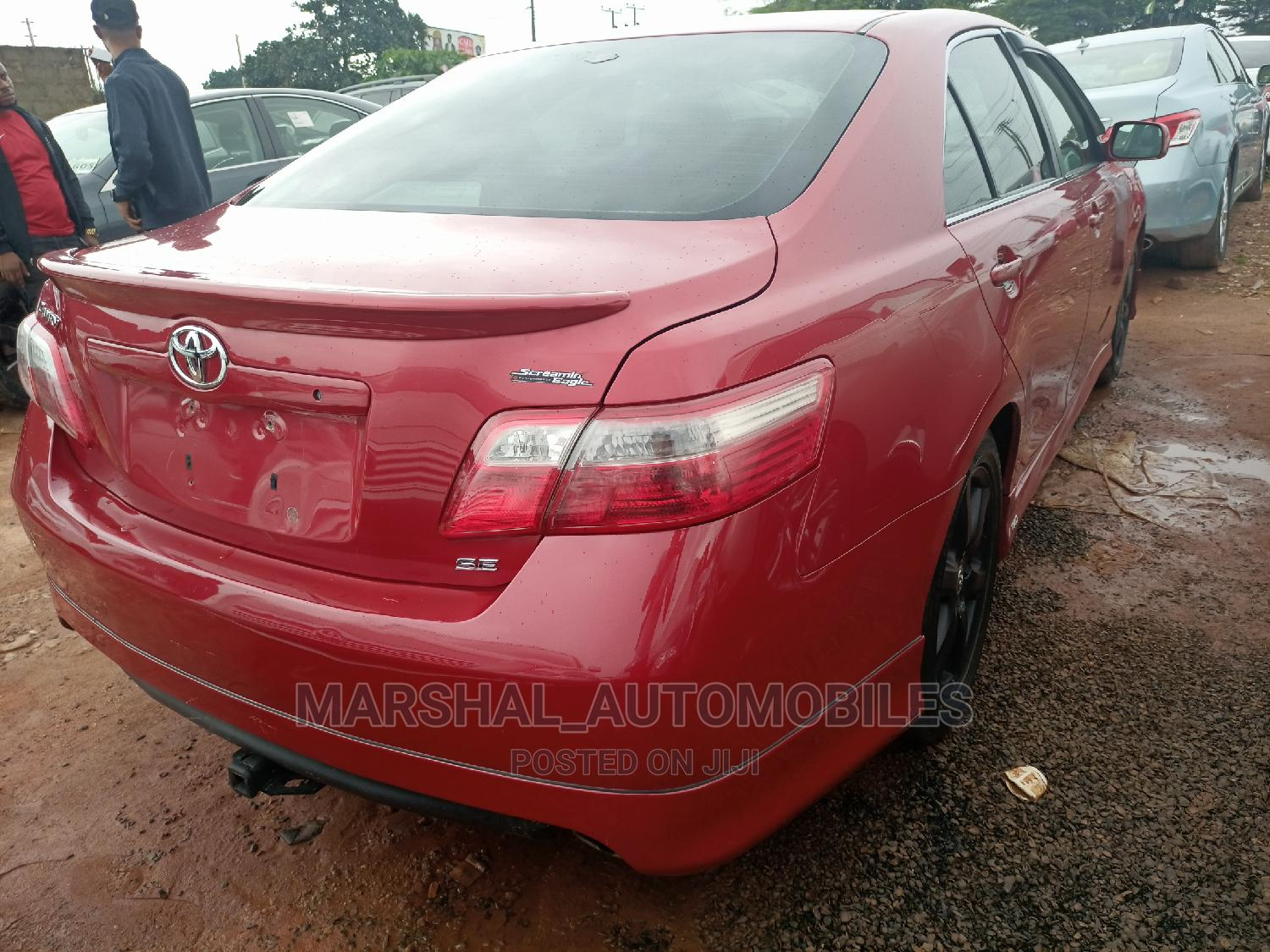 Toyota Camry 2008 Red   Cars for sale in Benin City, Edo State, Nigeria