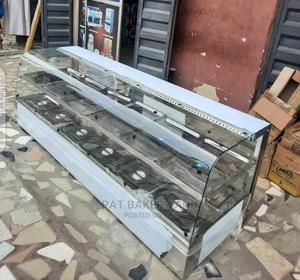 12 Plates Bain Marie With Curve Glass Double Step | Restaurant & Catering Equipment for sale in Lagos State, Ojo