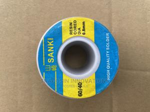 Sanki Solder Lead Resin Cored DIA 60/40 0.8mm 250g | Accessories & Supplies for Electronics for sale in Lagos State, Yaba