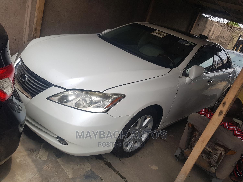 Lexus ES 2008 350 White