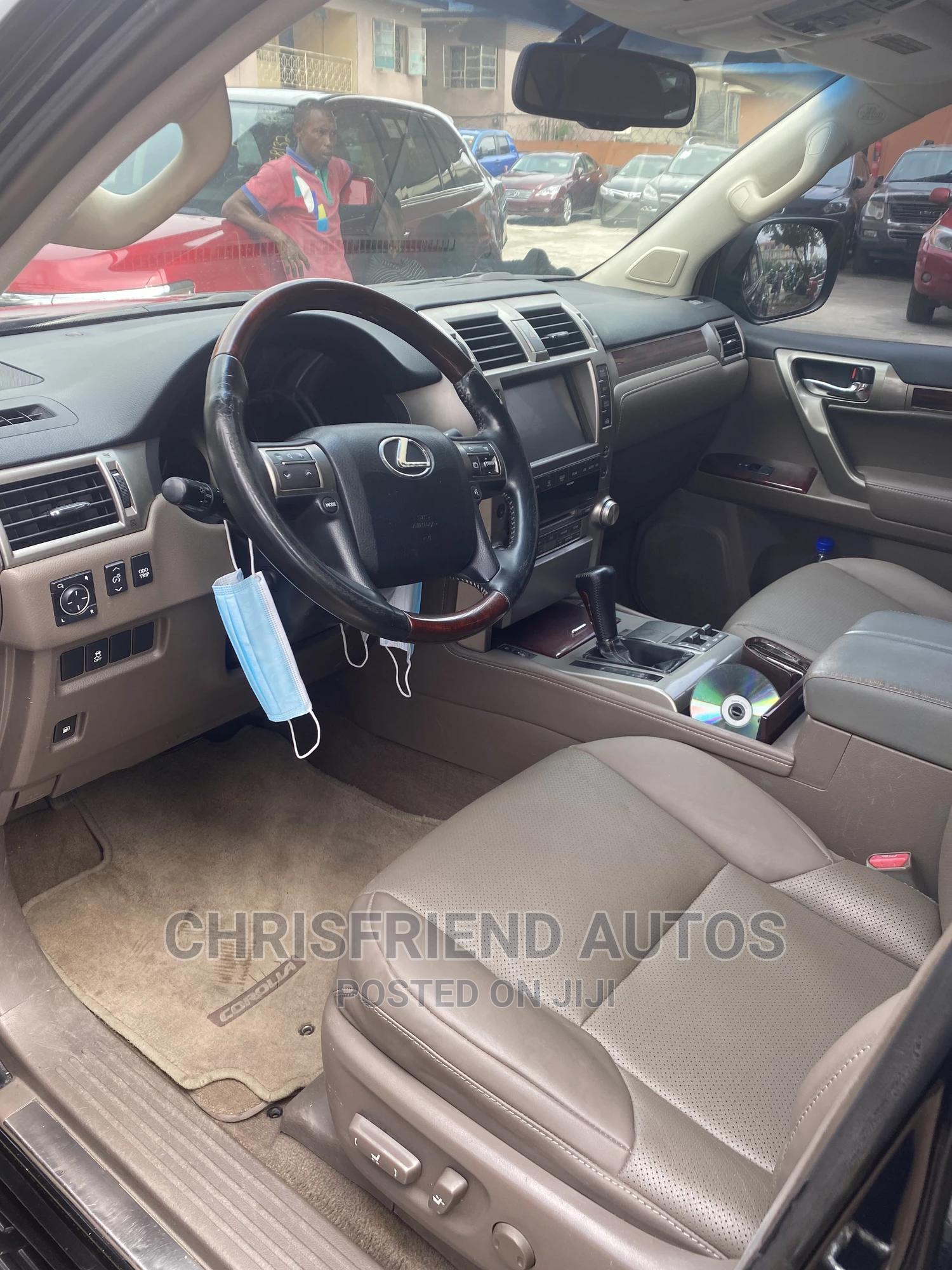 Lexus GX 2011 460 Premium Black | Cars for sale in Surulere, Lagos State, Nigeria
