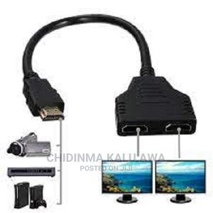 1 in 21080P HDMI Male to Female Splitter Cable Converter | Accessories & Supplies for Electronics for sale in Lagos State, Ikeja