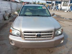 Toyota Highlander 2005 V6 Gold | Cars for sale in Lagos State, Ifako-Ijaiye