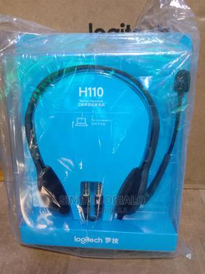 Logitech H110 Headset | Headphones for sale in Lagos State, Lekki