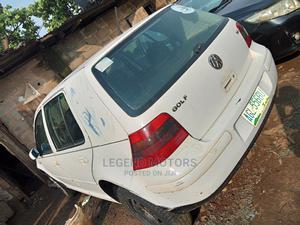 Volkswagen Golf 2000 1.6 White | Cars for sale in Lagos State, Alimosho