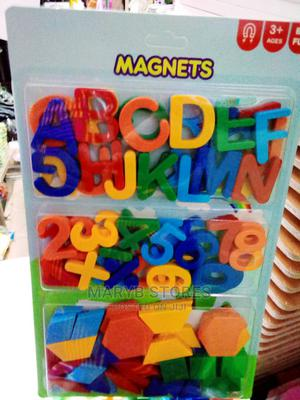 Colourful Educational Magnetic ABC + 123 + SHAPES for Kids | Toys for sale in Lagos State, Surulere
