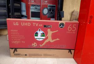 65 Inches 4k Original Lg Smart TV | TV & DVD Equipment for sale in Lagos State, Yaba