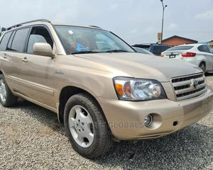 Toyota Highlander 2005 Gold   Cars for sale in Lagos State, Yaba