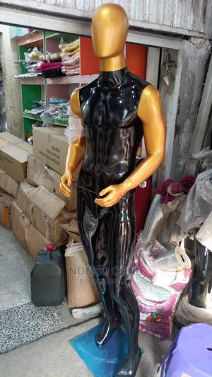 Fibre Black and Gold Display Male Mannequin | Store Equipment for sale in Lagos State, Lagos Island (Eko)