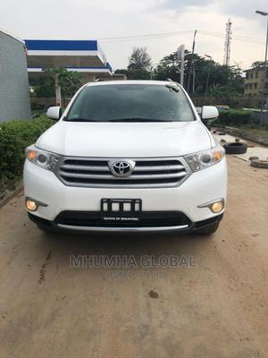 Toyota Highlander 2012 SE White   Cars for sale in Lagos State, Victoria Island