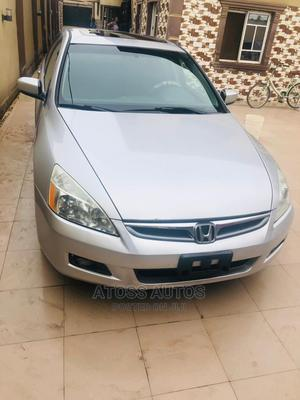 Honda Accord 2007 Silver | Cars for sale in Lagos State, Abule Egba