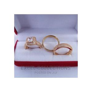 Bridal Set Gold Plated Wedding Ring | Wedding Wear & Accessories for sale in Lagos State, Surulere