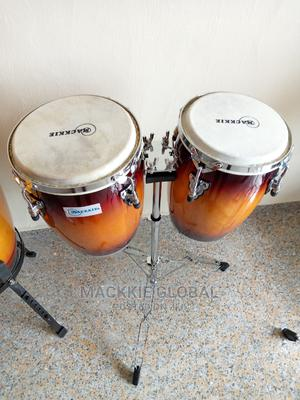 Mackkie Mini Conga Drum Set | Musical Instruments & Gear for sale in Lagos State, Ojo