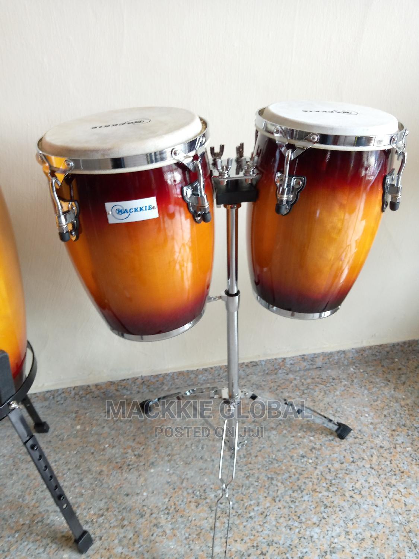 Mackkie Mini Conga Drum Set | Musical Instruments & Gear for sale in Ojo, Lagos State, Nigeria