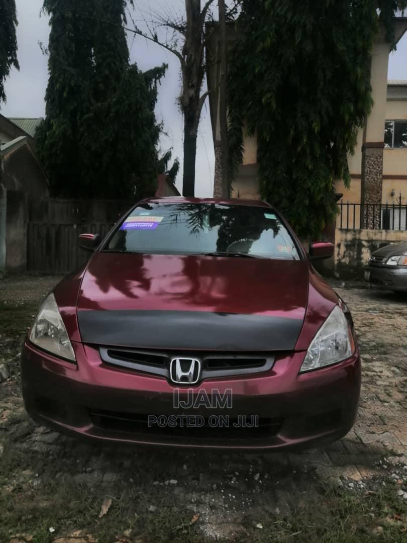Archive: Honda Accord 2005 Sedan EX Automatic Red