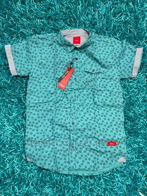 Green Colour Shirt for Boys   Children's Clothing for sale in Abuja (FCT) State, Central Business District