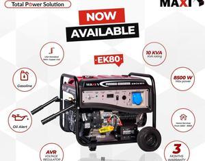 Maxi 10kva Elegant Key Starter Generator EK80 100% Copper   Electrical Equipment for sale in Lagos State, Ojo