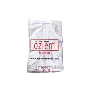 Original Ozlem 6 in 1 Skin Friendly Boys Singlet -White   Children's Clothing for sale in Lagos State, Surulere