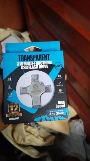 64GB Flash Drive 4in1 OTG   Accessories for Mobile Phones & Tablets for sale in Lagos State, Ikeja