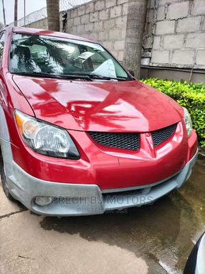 Pontiac Vibe 2003 Automatic Red   Cars for sale in Lagos State, Ogba