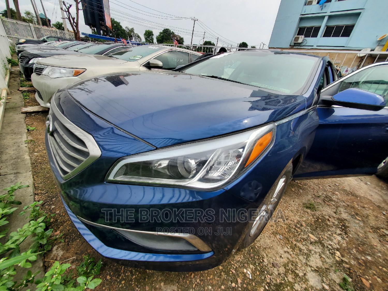 Hyundai Sonata 2016 Blue | Cars for sale in Ikeja, Lagos State, Nigeria