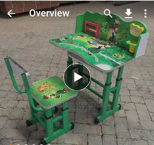 Wood Table and Chair.   Children's Furniture for sale in Lagos State, Lagos Island (Eko)