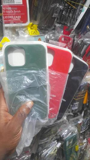 Original Silicone Back Cover Case for iPhone 12 Pro Max | Accessories for Mobile Phones & Tablets for sale in Lagos State, Ikeja