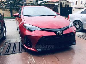 Toyota Corolla 2018 LE Eco (1.8L 4cyl 2A) Red | Cars for sale in Lagos State, Amuwo-Odofin