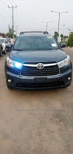 Toyota Highlander 2015 Blue   Cars for sale in Lagos State, Ikeja