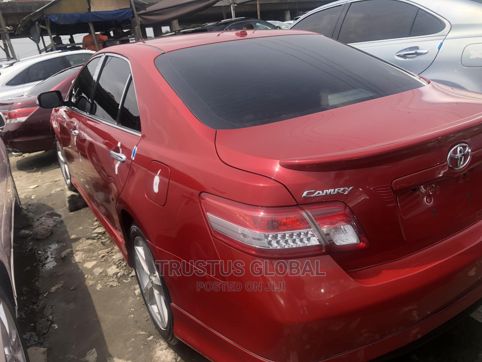 Toyota Camry 2011 Red | Cars for sale in Amuwo-Odofin, Lagos State, Nigeria