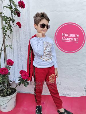 Red Jacket, White Long Sleeves and Trouser | Children's Clothing for sale in Imo State, Owerri