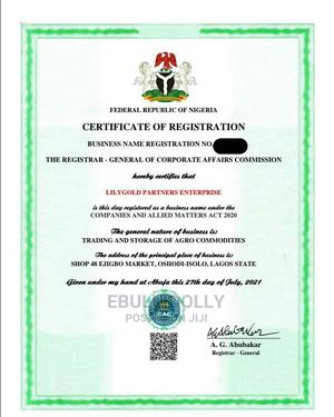 CAC Business Registration, Company Registration | Legal Services for sale in Lagos State, Ikorodu