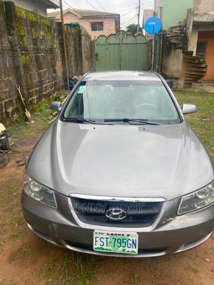 Hyundai Sonata 2007 Gray | Cars for sale in Lagos State, Ipaja
