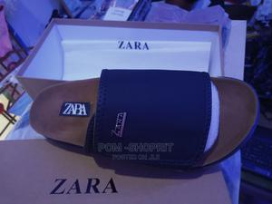 Designers Quality Leather Zara Palm Slippers   Shoes for sale in Imo State, Owerri