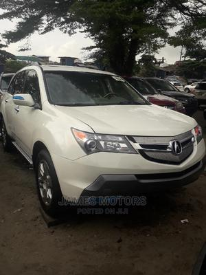 Acura MDX 2009 SUV 4dr AWD (3.7 6cyl 5A) White   Cars for sale in Lagos State, Apapa