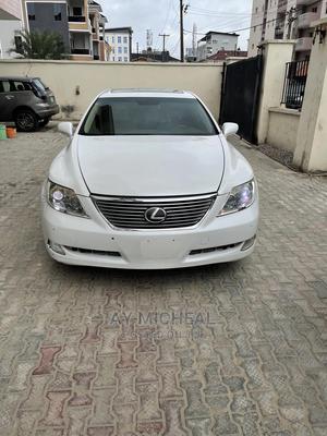 Lexus LS 2007 460 L Luxury Sedan White   Cars for sale in Lagos State, Ajah