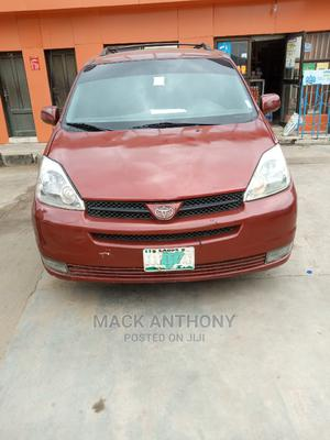 Toyota Sienna 2004 LE AWD (3.3L V6 5A) Red | Cars for sale in Lagos State, Isolo