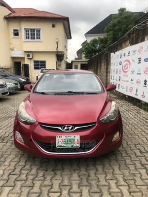 Hyundai Elantra 2013 Red   Cars for sale in Lagos State, Magodo