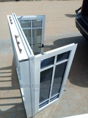 Aluminum Casement Windows With Burglary and Net | Windows for sale in Lagos State, Amuwo-Odofin