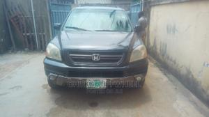 Honda Pilot 2004 EX 4x4 (3.5L 6cyl 5A) Gray | Cars for sale in Lagos State, Isolo