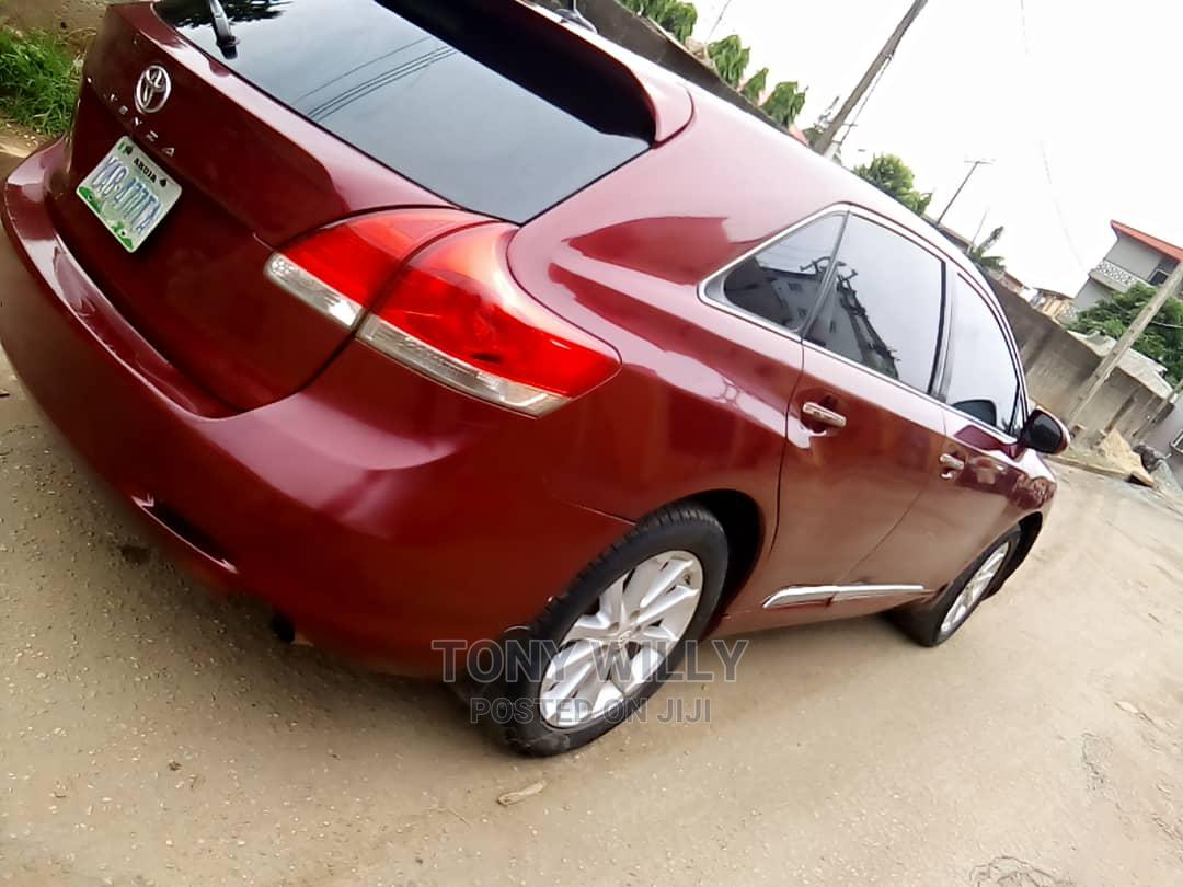 Toyota Venza 2010 AWD Red | Cars for sale in Ikeja, Lagos State, Nigeria