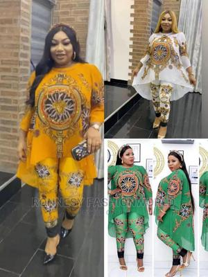 Elegant Trendy Female Quality Chiffon Top and Trouser | Clothing for sale in Lagos State, Kosofe