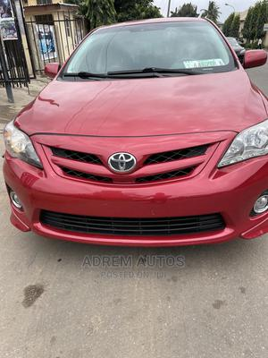 Toyota Corolla 2012 Red   Cars for sale in Lagos State, Ogba