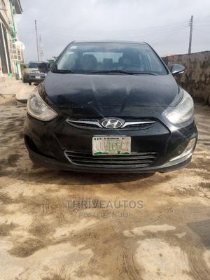 Hyundai Accent 2014 Black | Cars for sale in Lagos State, Ikorodu