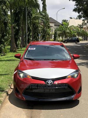 Toyota Corolla 2017 Red | Cars for sale in Abuja (FCT) State, Garki 2