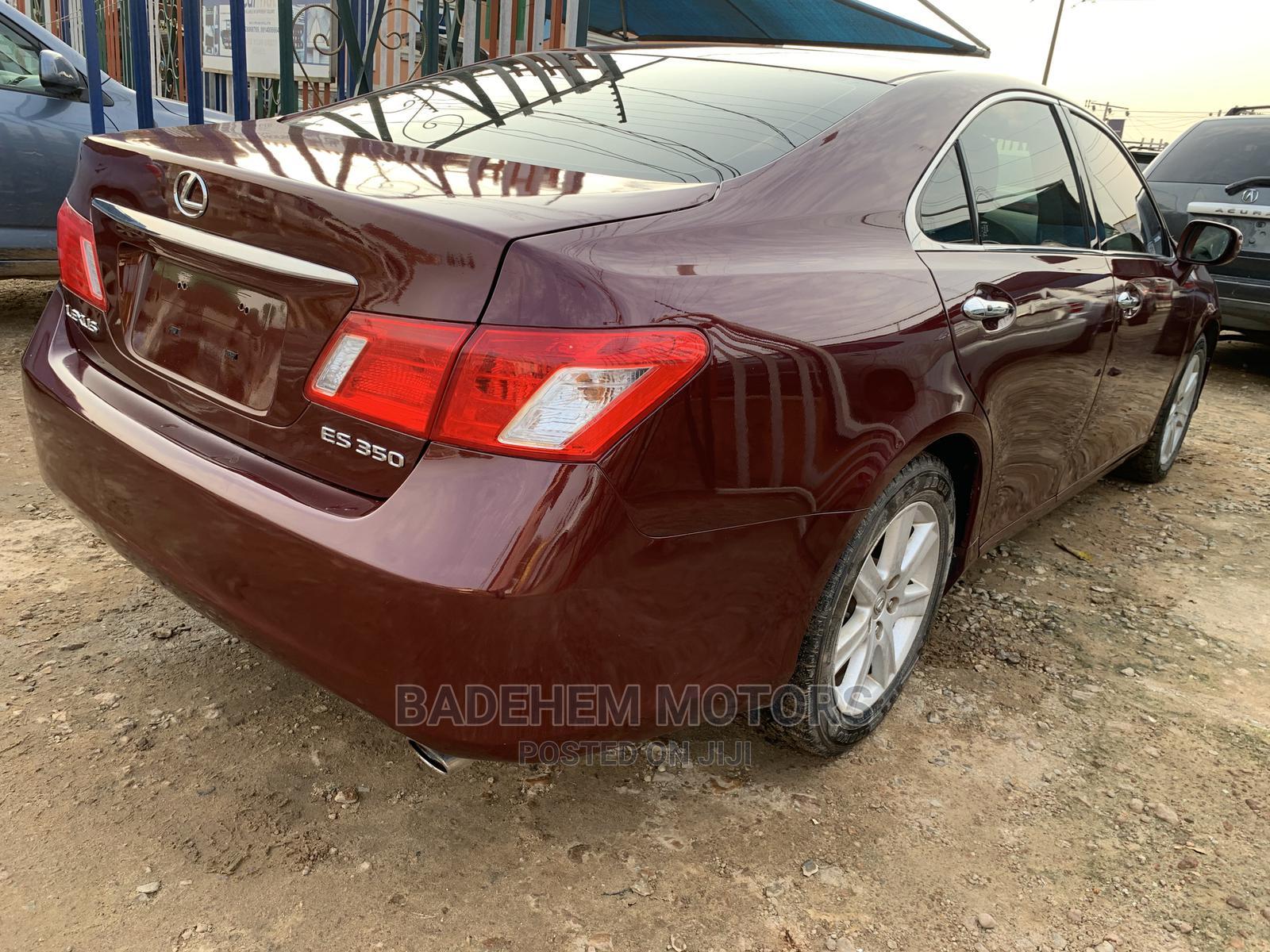 Lexus ES 2008 350 Red   Cars for sale in Alimosho, Lagos State, Nigeria